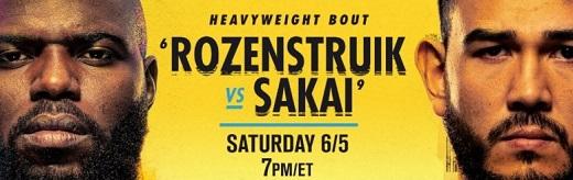 UFC Fight Night Rozenstruik Vs Sakai WEB