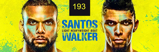 UFC Fight Night 193 Santos Vs Walker