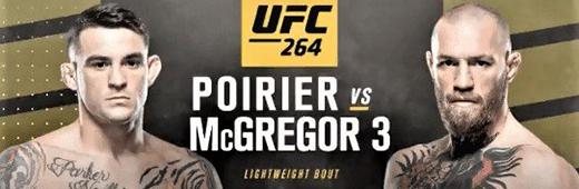 UFC 264 Poirier vs McGregor 3 PPV